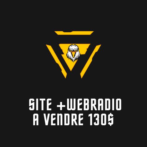 SITE WEB+WEBRADIO A VENDRE  130$