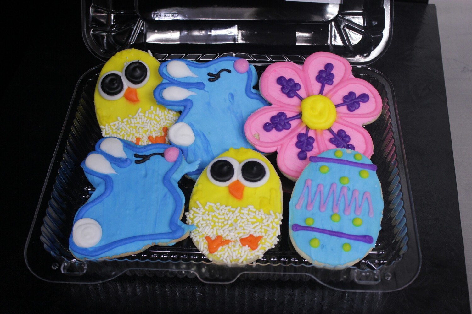 Assorted Decorated Easter Cookies - 6 pack