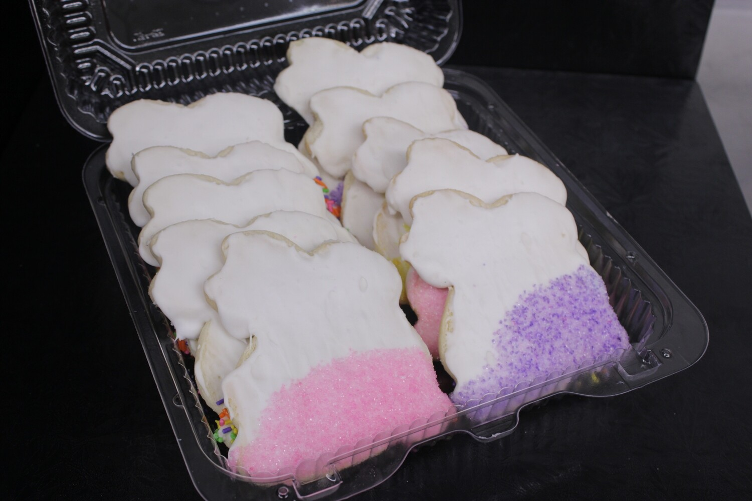 Iced Bunny Cookies - 10 pack