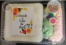 Chocolate  - Mother's Day Cake Decorating Kit