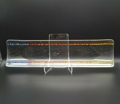 Tapestry Fused Glass Channel Tray