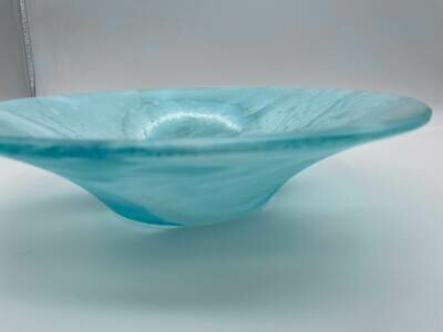 Tint Blue with Opaline Accents Classic Bowl