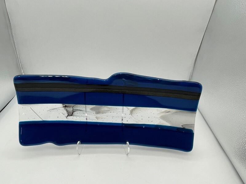 Copper Blues Long Rectangle Tray
