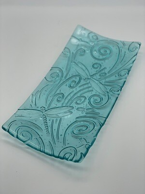 Dragonfly Relief Tray