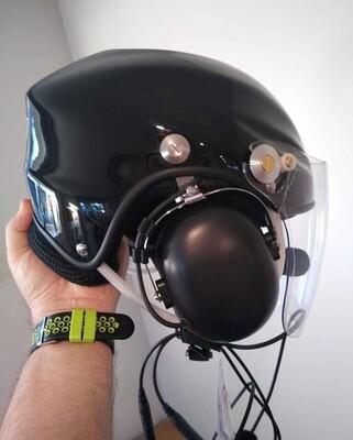 Helmet Black.  L
