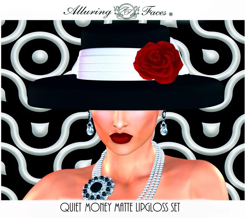 Quiet Money Matte Lipgloss set