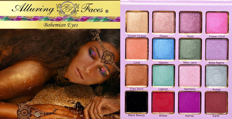 Alluring Faces Bohemian Palette