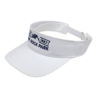 Lime Rock Park Kate Lord Visor - White