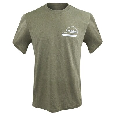 Lime Rock Recreation Area Tee - Military Green