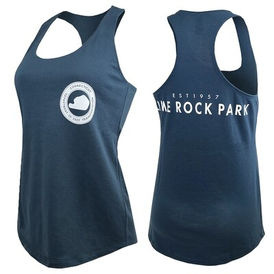 Ladies Department Of Fast Transportation Tank Top - Indigo Blue