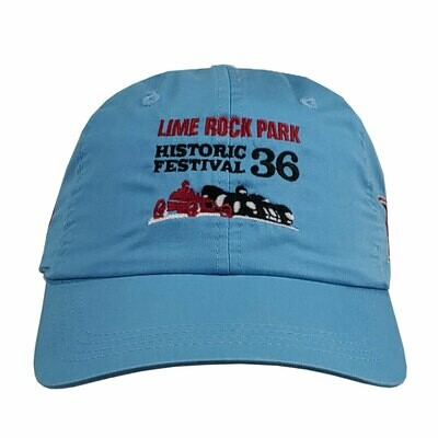 Historic Fest 36 Hat- Light Blue