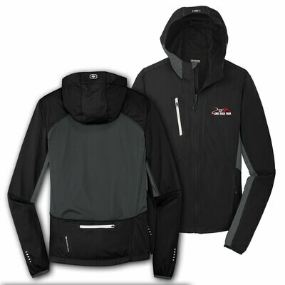 Ogio Endurance Pivot Soft Shell Jacket - Blacktop/Gear Grey
