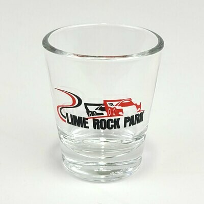 Lime Rock Shot Glass - Track