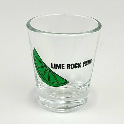 Lime Rock Shot Glass - Lime