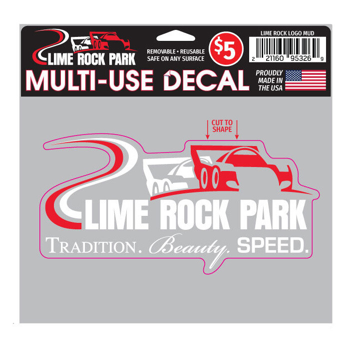 Lime Rock Logo Decal - Multi-use