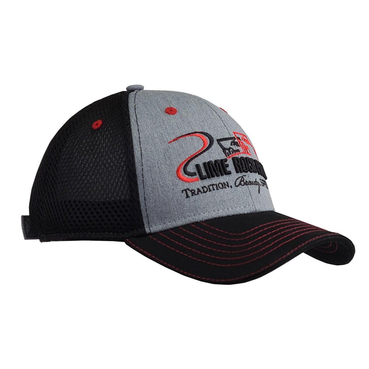 LRP Wool/Air Mesh Hat - Grey/Black