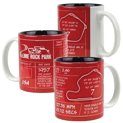 LRP Coffee Cup-Red/Black 11 oz.