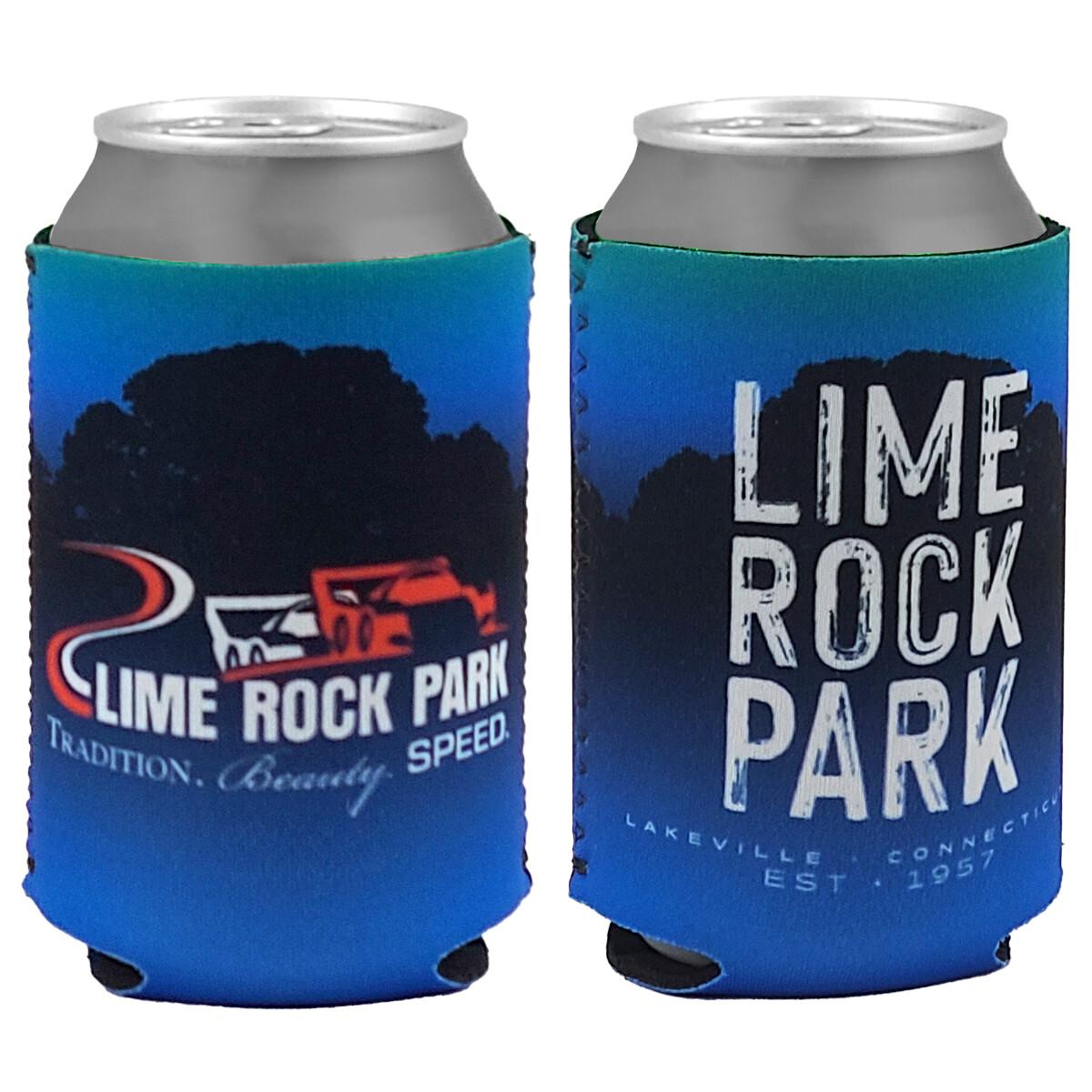 Koozie - Blue/Lime Rock Park