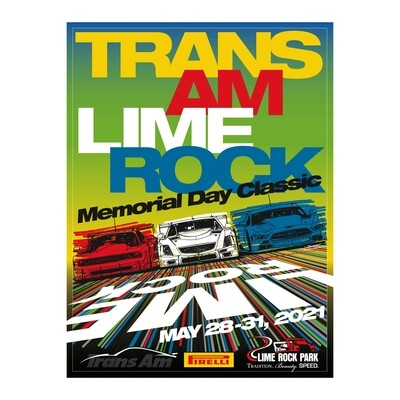 Poster -Trans Am 2021  Lime Rock