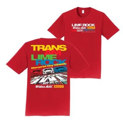 2021 Trans Am Tee-Cardinal