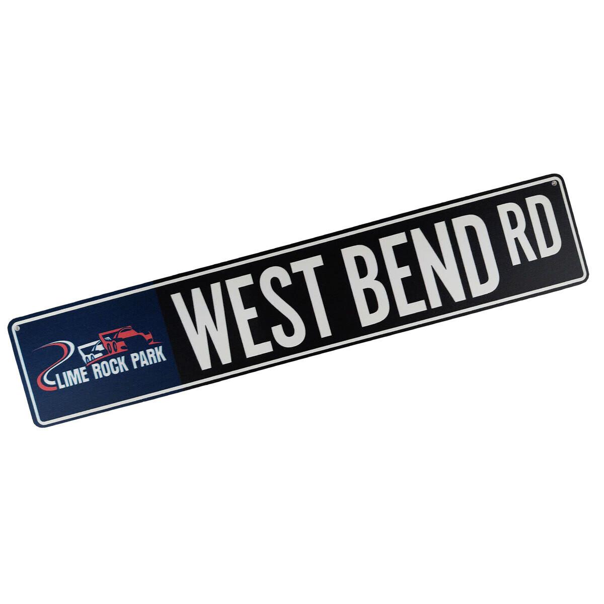 Street Sign - West Bend
