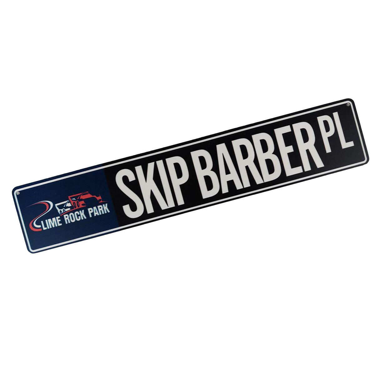 Street Sign - Skip Barber