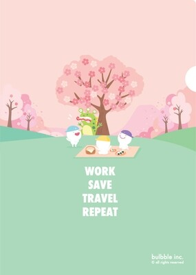 Sakura A4 Folder