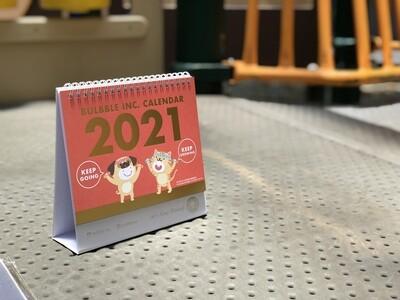 Bulbble Inc. Calendar 2021