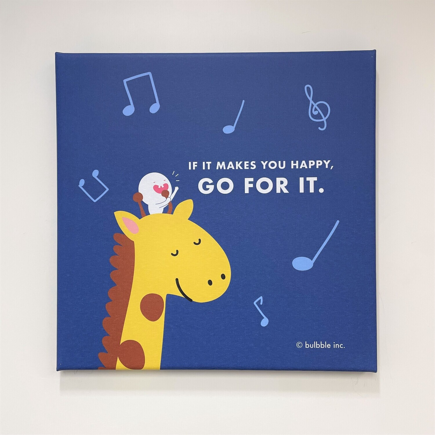 """Bulbble Canvas - """"If it makes you happy, go for it."""""""