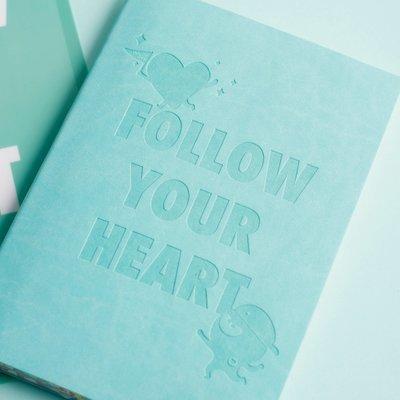 DayCraft x Bulbble Inc. A5 Notebook 橫線本, Follow Your Heart