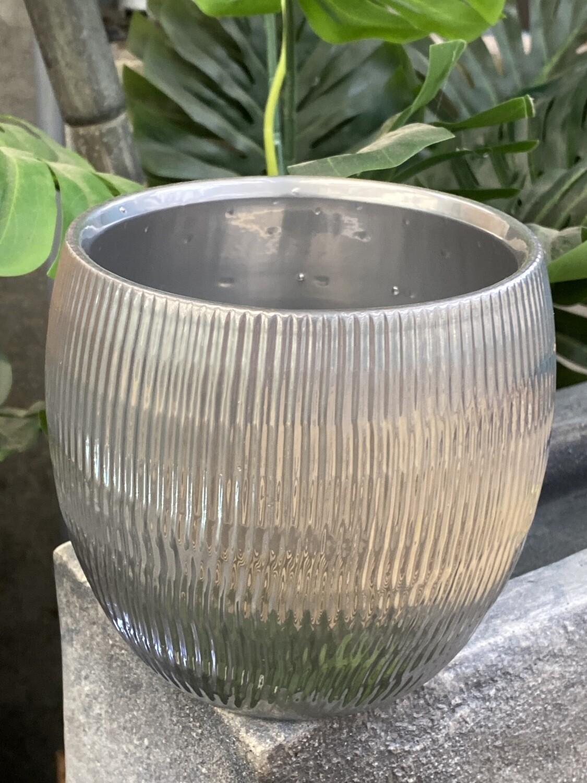 Cache-pot métal diamètre 15