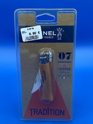 Opinel N°07 Carbone Tradition Made in France