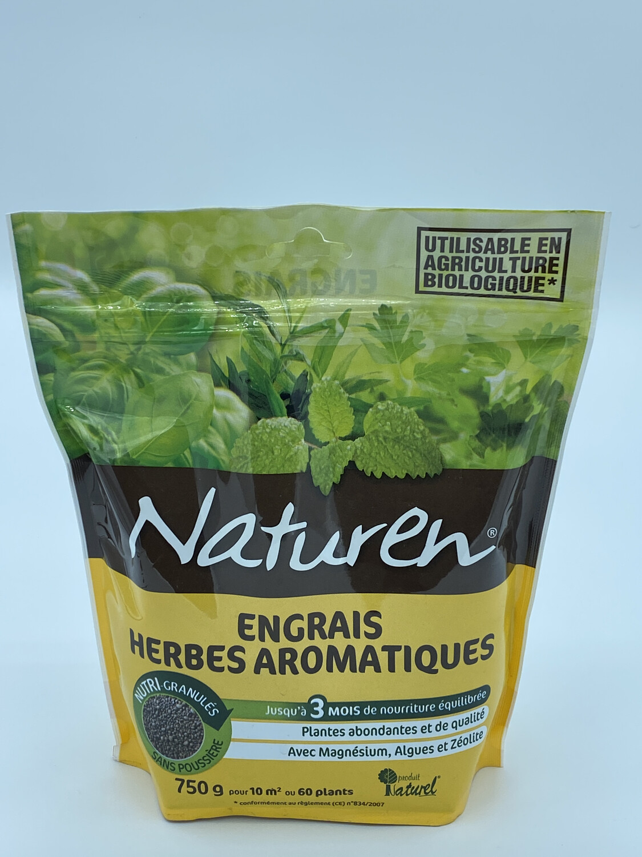 Engrais herbes aromatiques 750 g