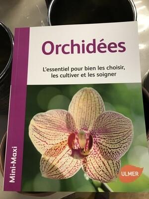 Orchidées, livre mini-maxi