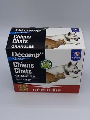 Répulsif granulés pour chien et chat Décamp's
