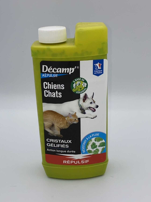 Répulsif pour chiens et chats Décamp's