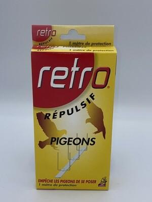 """Répulsif pigeon 1 m de protection """"retro"""""""