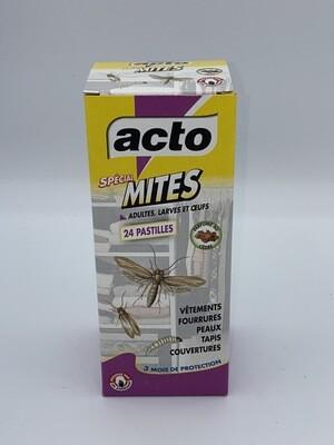 Anti mites 24 pastilles acto