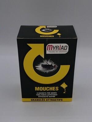Anti mouches granulés attractifs Myriad