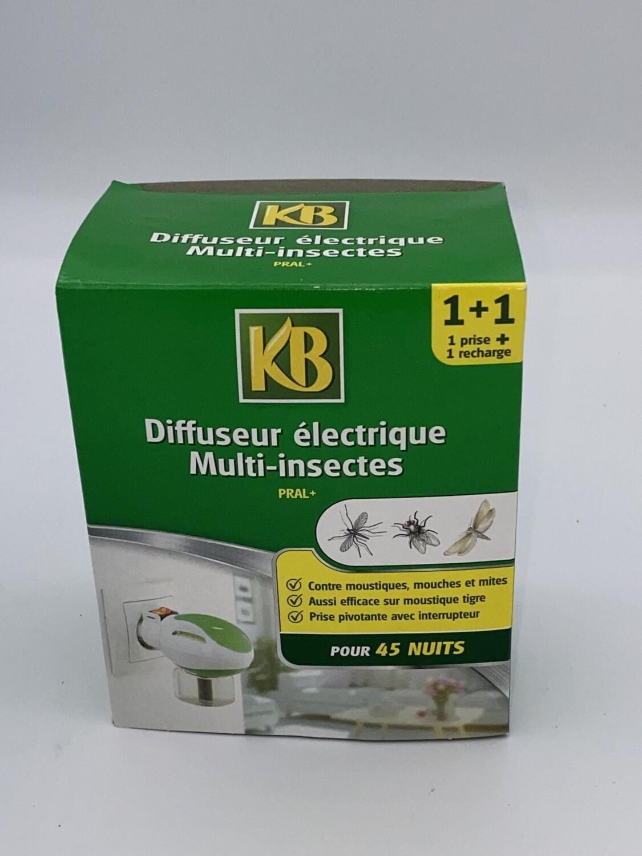 Diffuseur électrique Multi insectes KB