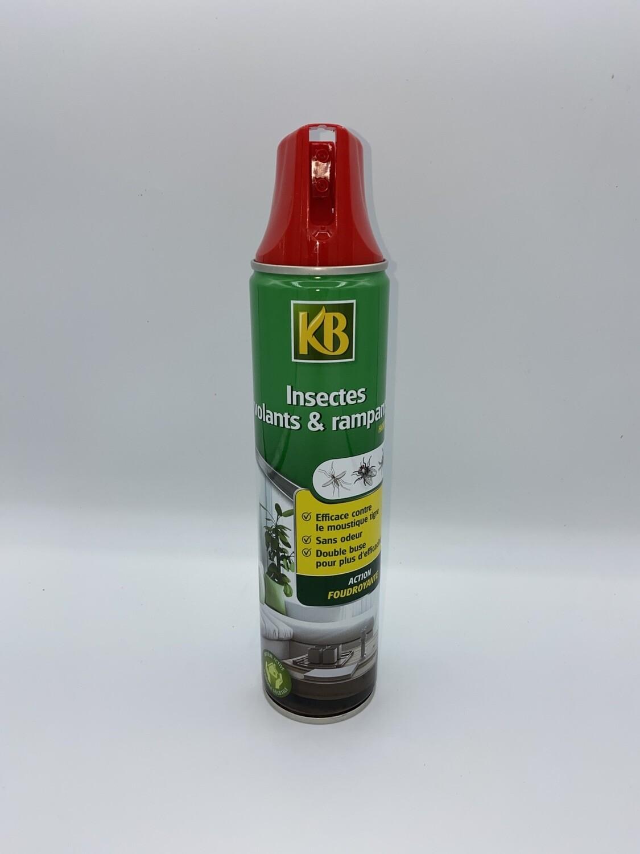 Anti insectes volants et rampants 520 ml KB