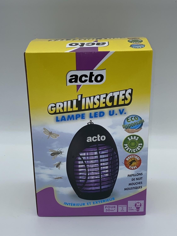 Lampe UV LED anti insectes acto