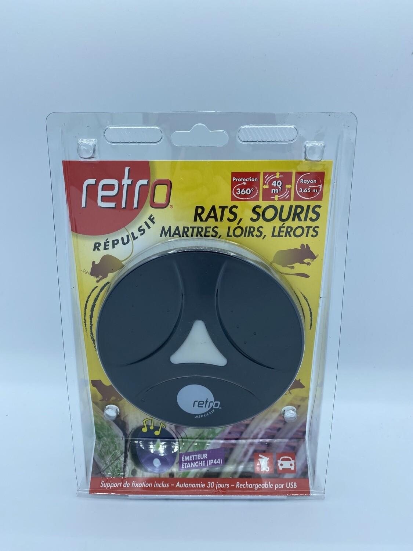 Ultrason contre les rats, souris, mulot, Loirs... retro