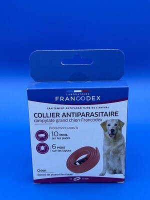 Collier antiparasitaire Francodex