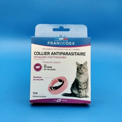 Collier antiparasitaire