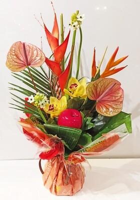 Bouquet de fleur exotique