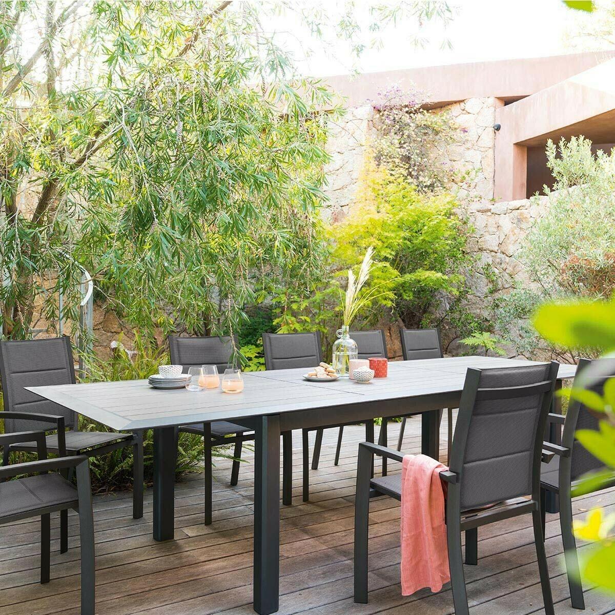 Table de jardin extensible Allure