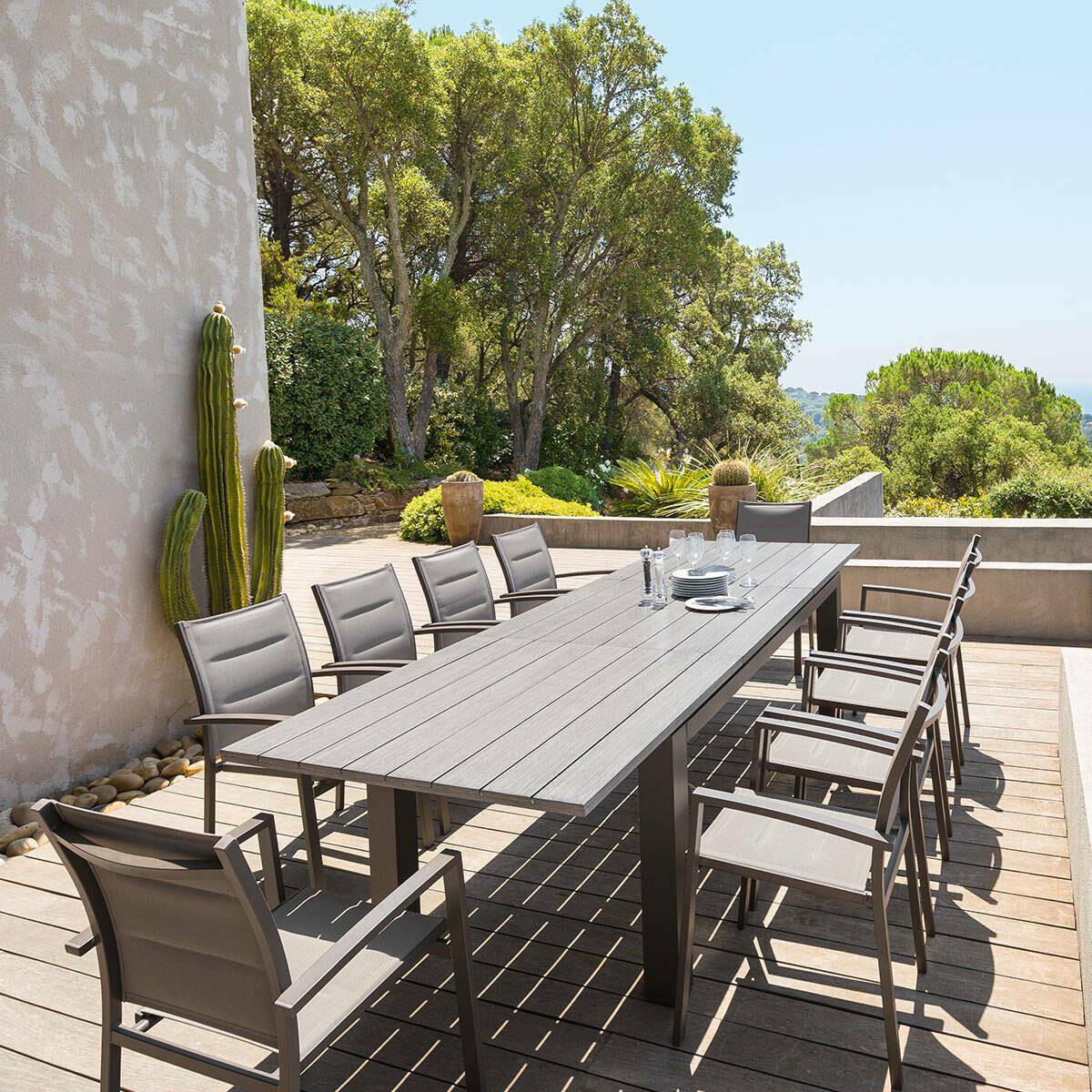 Table de jardin extensible Héraklion