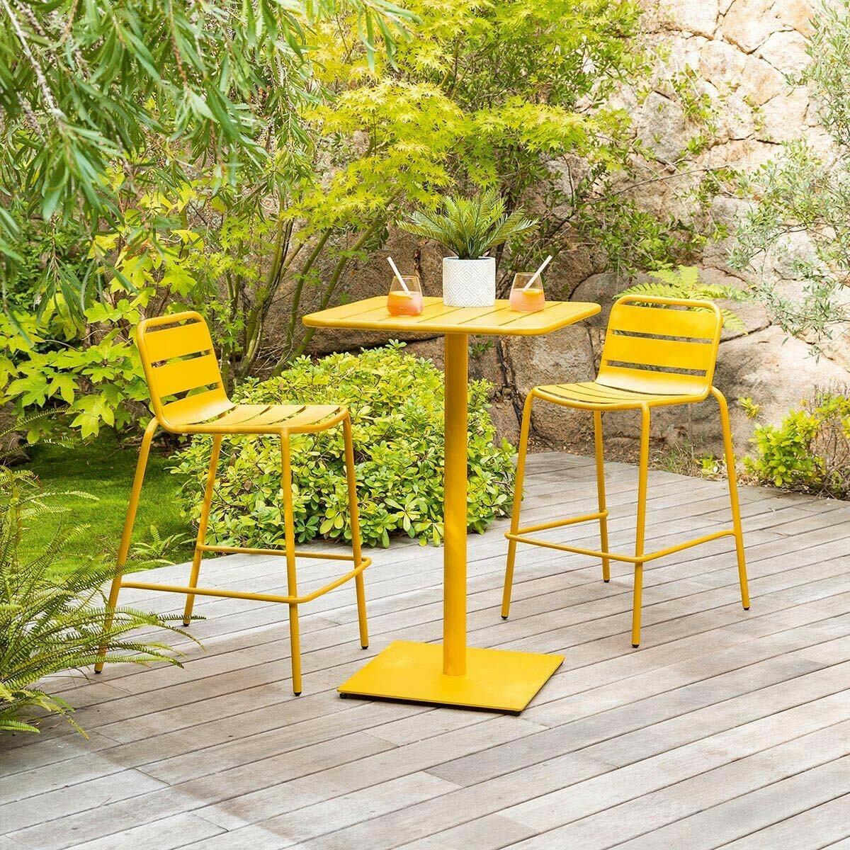 Table haute de jardin Phuket