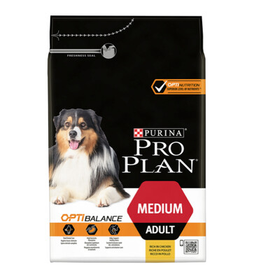 Pro plan medium adult 3kg